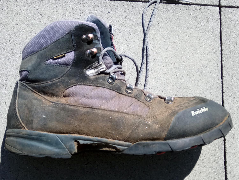 Raichle Wanderschuhe Merino Socken